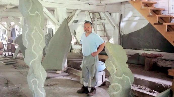 Ken Hiratsuka, Sculptor