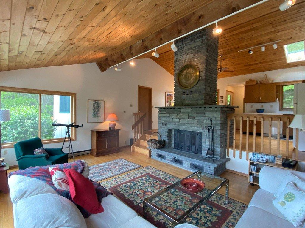Catskills living room